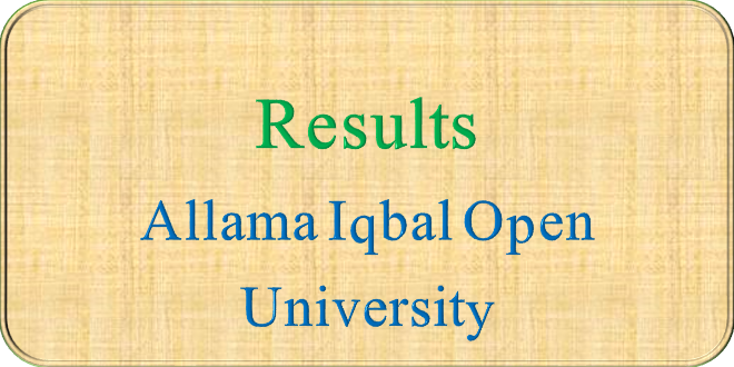 AIOU RESULTS UPDATES LATEST